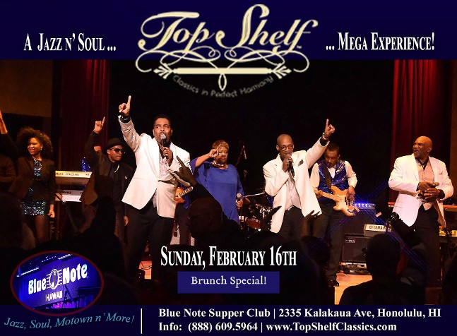 Top Shelf Classics' Musical Voyage!  Dinner Show n' Dancing, Hilton Hawaiian Village